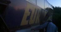 На трассе Сургут-Ханты-Мансийск попал в аварию автобус из Омска