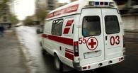 В омском супермаркете на рабочего упал автопогрузчик