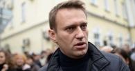 Навального в Новосибирске закидали пирожными и презервативами