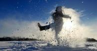 На выходных в Омске будет снежно и тепло