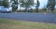 Под Омском автомобиль опрокинулся в кювет: все погибли