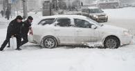 Мэрия Омска: дорожные службы оперативно отреагировали на снегопад
