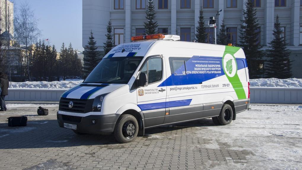 В Омске появился экомобиль, который будет контролировать выбросы вредных веществ в атмосферу