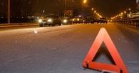 В Омске у «Кристалла» маршрутка врезалась в автобус
