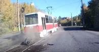 В Омске наказали виновных в фееричном инциденте с трамваем
