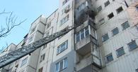 В Омске ночью из горящей квартиры пожарные спасли пенсионера