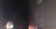 В Омске горел дом престарелых