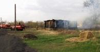 Житель Омской области спьяну придумал поджечь соседкино сено