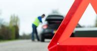 В Омске водитель «девятки» протаранил иномарку: пострадал ребенок