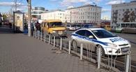 В Омске у Дома Туриста столкнулись маршрутки № 307 и 341: есть жертвы