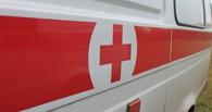 Ночью в Омске загорелся автомобиль скорой помощи