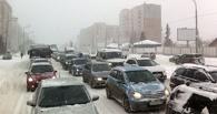 Обзор ситуации на дорогах в Омске: большая пробка на Красном Пути