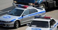 В Омске лихач без водительских прав протаранил патрульный автомобиль