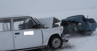 В Омской области столкнулись два ВАЗа: один погибший, семеро пострадавших