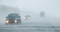 В Омской области из-за метели перекрыли несколько дорог