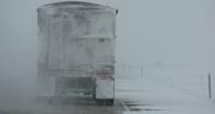 В Омске водителей просят быть внимательнее на дорогах из-за метели