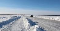 В Омской области ледовые переправы прекратят работу к 1 апреля