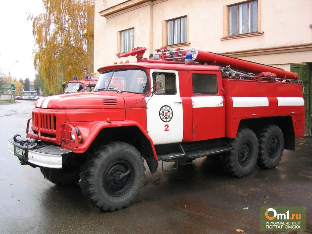 В Омской области в огне погиб мужчина