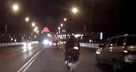 По Омску пронеслась погоня за мотоциклом, угнанным в Италии (видео)