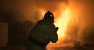 В Омской области сгорела насосная станция