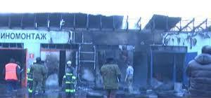 В Омске на пожаре в «Авангарде» погибли двое мужчин