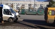 В ДТП с маршрутками пострадали семеро омичей, в том числе 13-летний ребенок