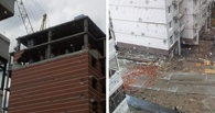 От непогоды у дома обвалился 14 этаж