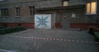 В Омске обрушилась часть стены жилого дома
