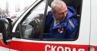 В Омске у Южного кладбища столкнулось четыре авто