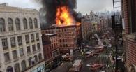 В Нью-Йорке в результате взрыва газа и пожара обрушилось три здания