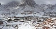 В Египте впервые за 100 лет выпал снег