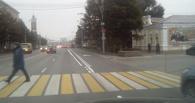 В центре Омска выделили полосы для общественного транспорта