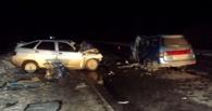 В Омской области в Новый год столкнулись два ВАЗа: погиб человек