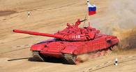 Омские танки принимают участие в «Танковом биатлоне»
