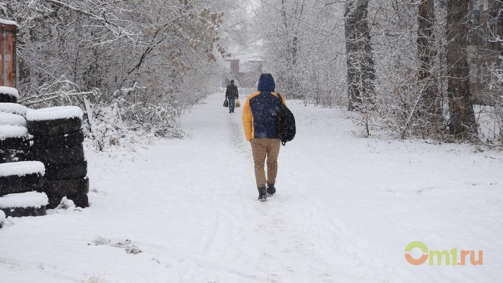 Перед Женским днем в Омске объявлено штормовое предупреждение