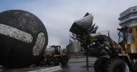 На ремонт шара на Речном вокзале требуется 130 000 рублей