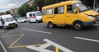 За день водители омских маршруток 174 раза нарушили правила дорожного движения