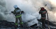 В Омске 43 пожарных тушили офисный центр на 7-й Северной