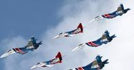 Омичи на выходных смогут полюбоваться на полет истребителей и фиалки