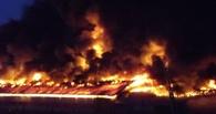 Над цехом пластмасс в Омске сгорела почти вся крыша