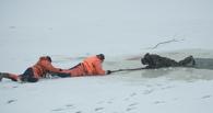 Спасатели сообщили, где в Омске самый опасный речной лёд