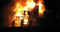 В Омской области в пожаре погиб мужчина