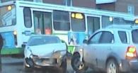 Крупное ДТП в Омске парализовало движение на Герцена (фото)