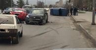 Пьяный омич на Nissan MURANO спровоцировал ДТП на Иртышской Набережной
