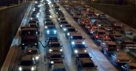 В Омске начались будничные восьмичасовые пробки