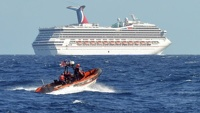 В Мексиканском заливе уже двое суток дрейфует круизный лайнер