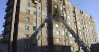 В Омске в горящем доме едва не погибли 30 человек