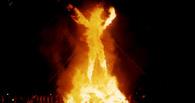Омичи сожгут рекордное чучело зимы