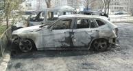 В Омске и области сгорели за сутки сразу четыре автомобиля