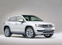 Первые изображения нового Volkswagen Tiguan попали в Сеть